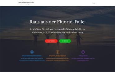 Webseite zum Buch Raus aus der Fluroid-Falle von Dr. med. dent. Nicole Wagner | Hans Nietsch Verlag