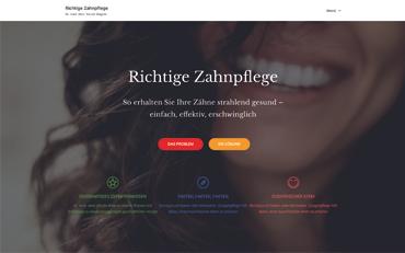 Webseite zum Buch Richtige Zahnpflege von Dr. med. dent. Nicole Wagner | Hans Nietsch Verlag
